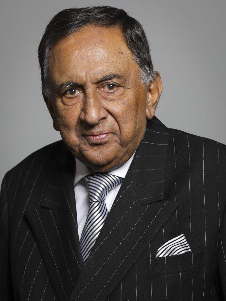 Photgraph of Lord Sheikh